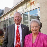 Members of the month: Linda and Bernie Herpin