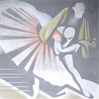 Kenneth Adams, Dancers Mural