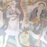 cafe-mural