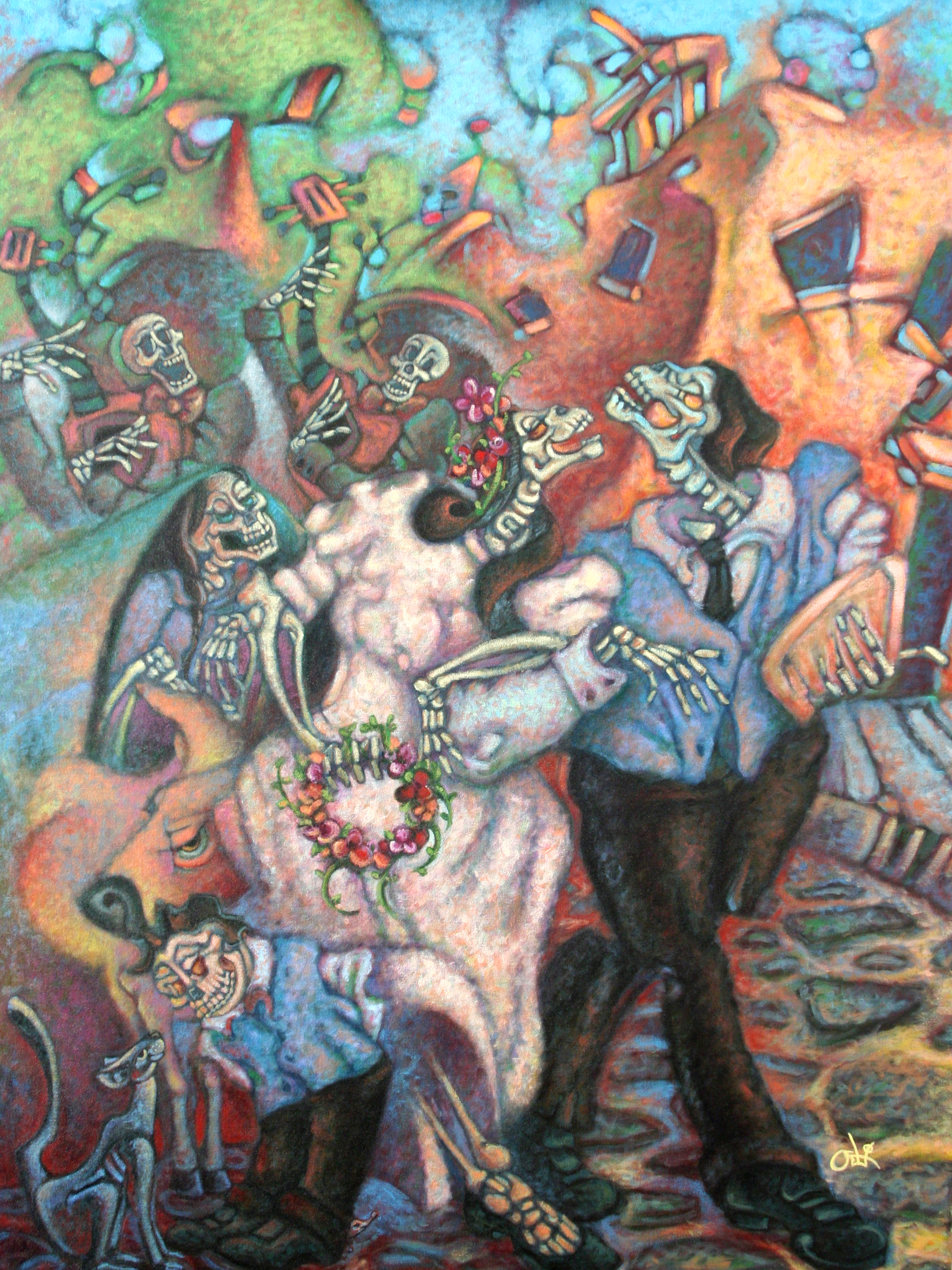 David Ocelotl Garcia, Muertos Wedding