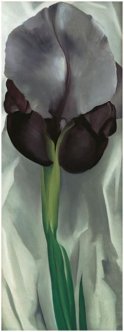 Georgia O'Keeffe Dark Iris