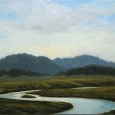 MichaelBaum_Winding-River_oil on linen_9x12