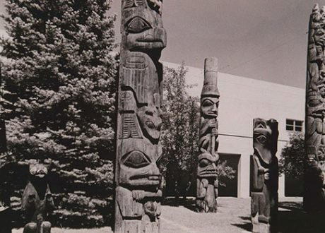 Courtyard Totems