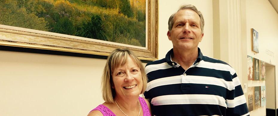 Denise and Norm Farrar