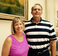 Members of the month: Denise and Norm Farrar