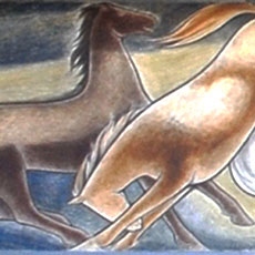 Frank Mechau, Wild Horses