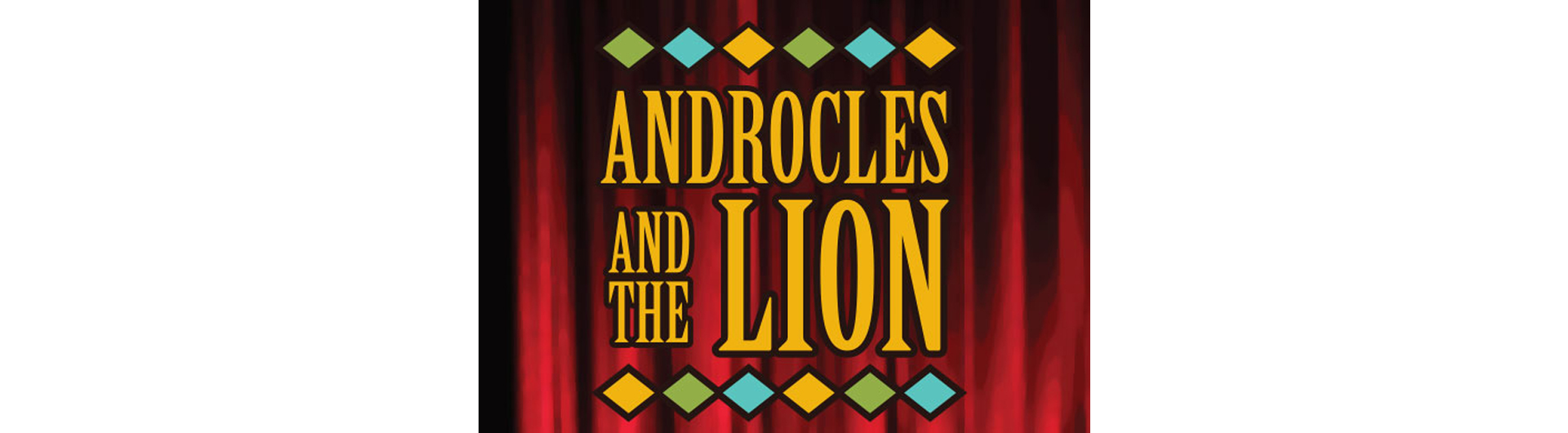 Androcles and the Lion title graphic