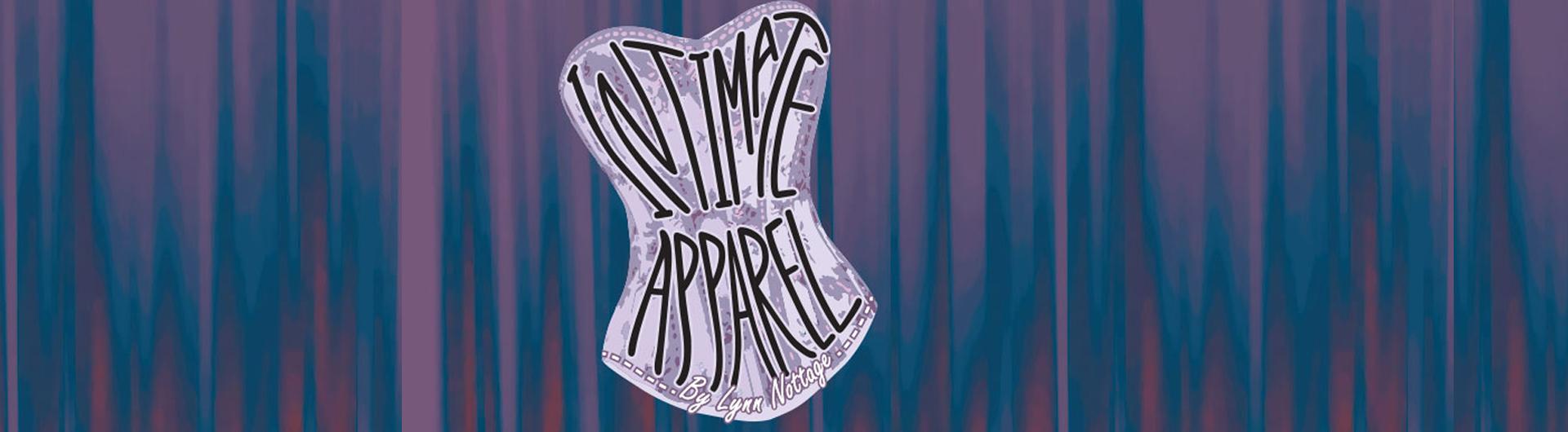 Intimate Apparel title inside lavender corset