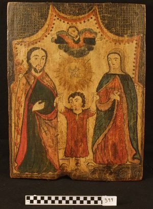 Retablo of Holy Family, TM 399