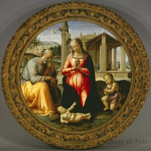 Granacci, Adoration of the Child