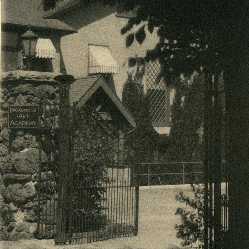 Entrance to Julie Penrose's House & BAA