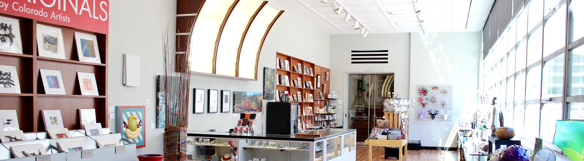 Museum Shop - Fine Arts Center