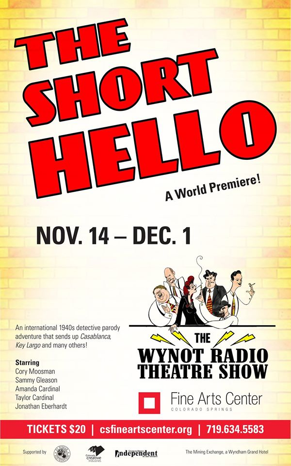 WYNOT Radio Theatre in The Short Hello