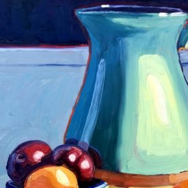 Virtual oil painting