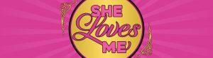 She Loves Me performance logo