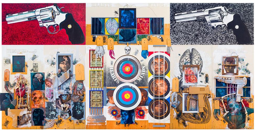 Floyd Tunson Hearts and Minds art