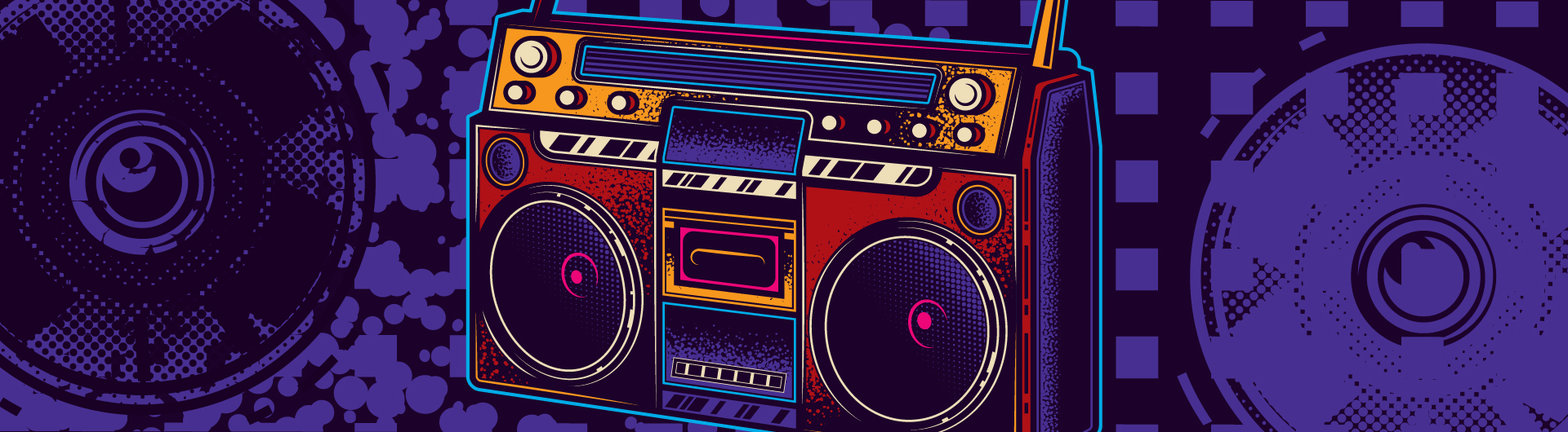 Where Did We Sit on the Bus boom box
