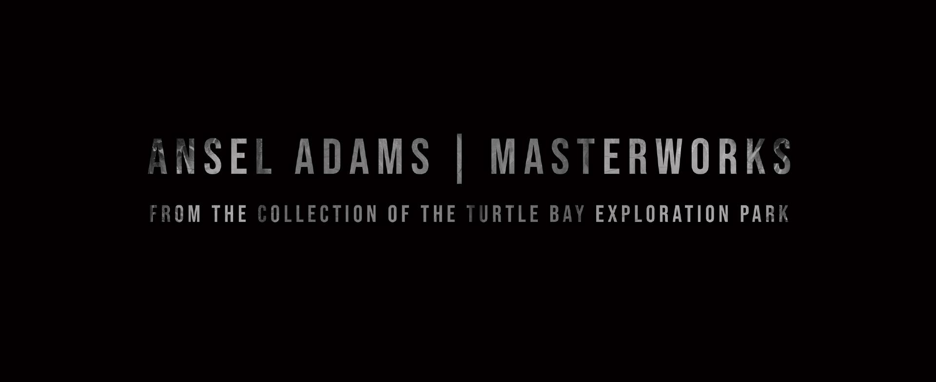 Ansel Adams: Masterworks